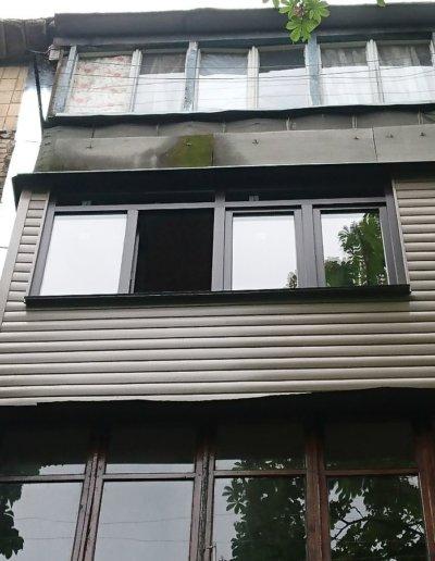 балкон под ключ в Донецке, ул Петровского д 258 -007