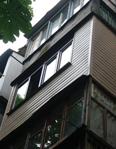 балкон под ключ в Донецке, ул Петровского д 258 -008