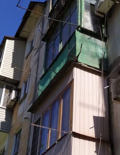 французский балкон Макеевка, ул Черняховского дом 30 - 001