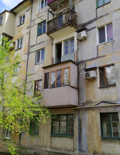 французский балкон Макеевка, ул Черняховского дом 30 - 003