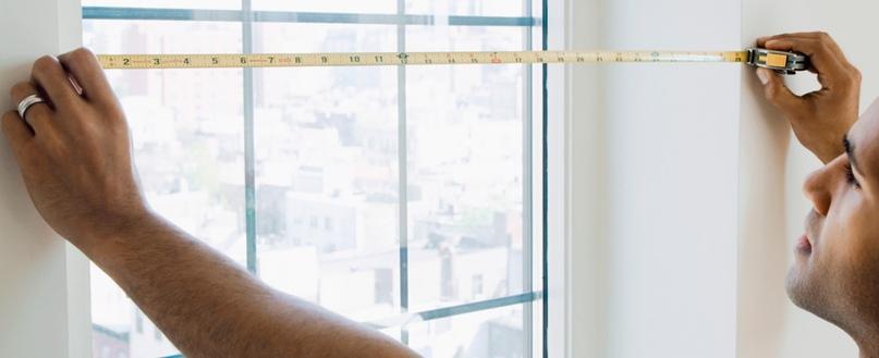 Как замерить стеклопакет не снимая штапиков
