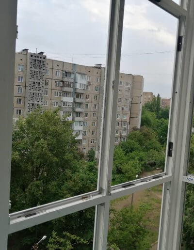 французский балкон Донецк, ул Щетинина дом 2 ОкнаПроф 003