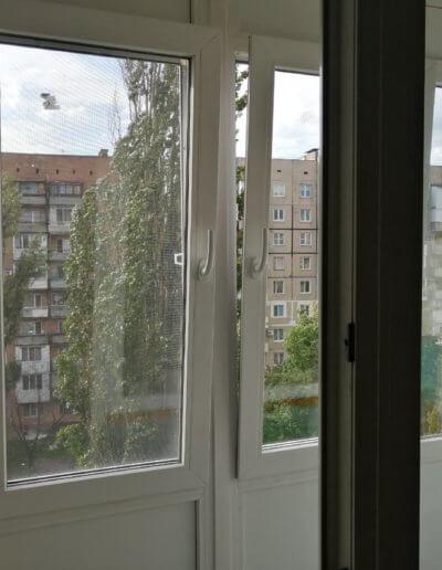 французский балкон Донецк, ул Щетинина дом 2 ОкнаПроф 004