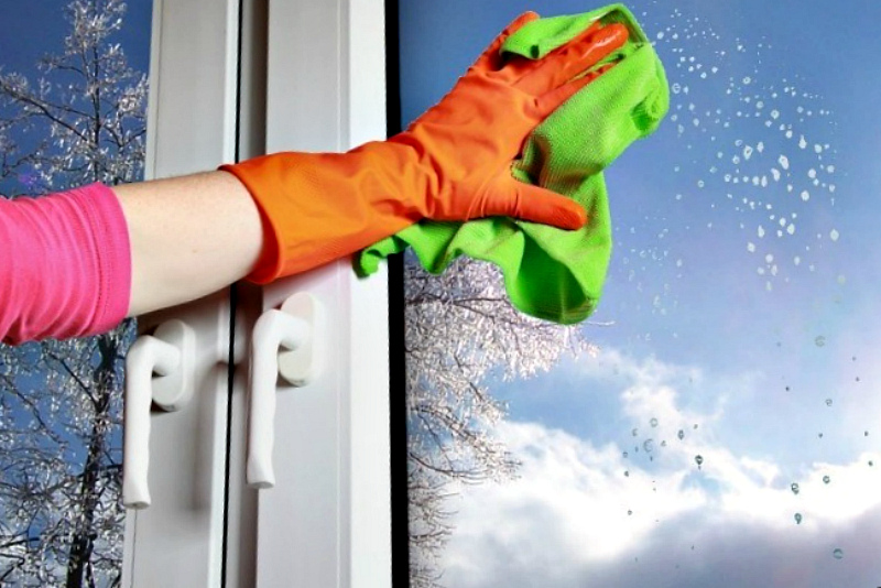 картинка мытье окон зимой