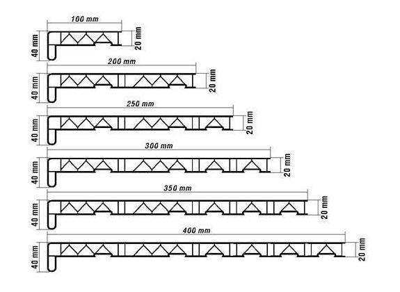 картинка размеры подоконников для пластиковых окон