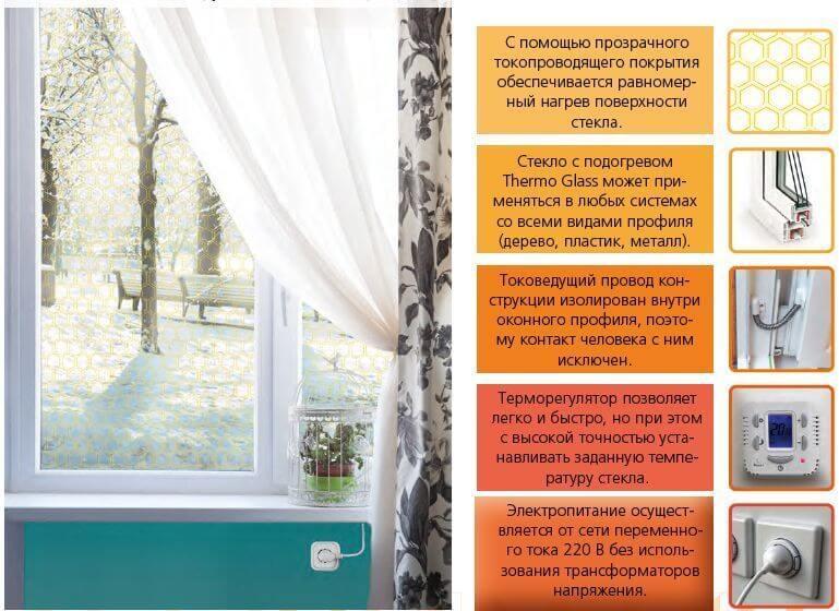 картинка как работает окно с подогревом