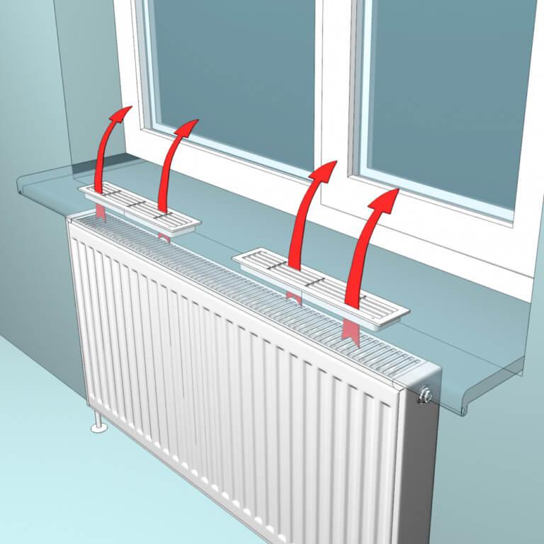 картинка решетки на радиатор