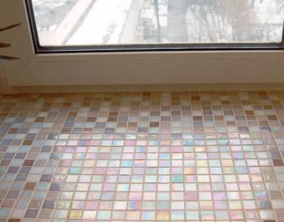 картинка облицовка мозайкой подоконника