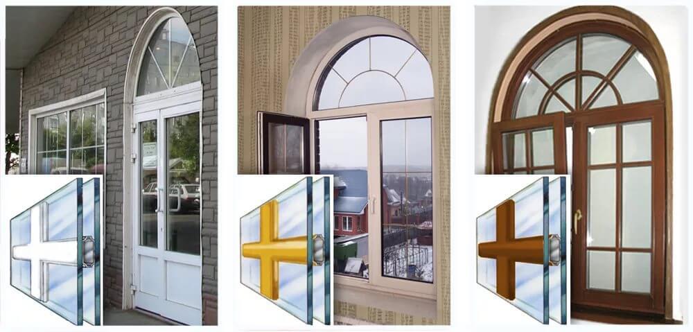 окна со шпросами фотогалерея
