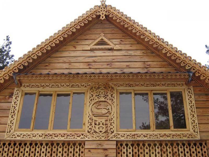картинка деревянное окно