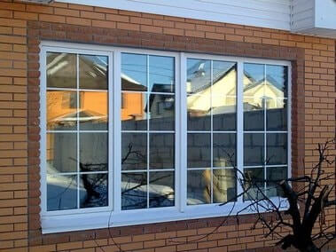 шпросы в окнах фото