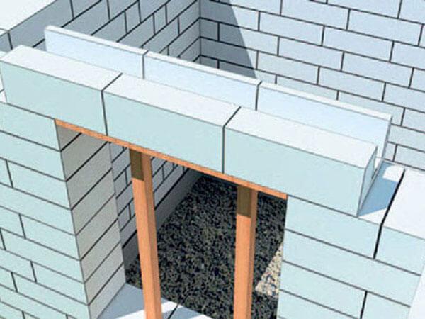 Установка пластиковых окон в газобетонных стенах