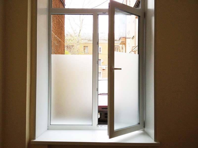 картинка матовая пленка на окна