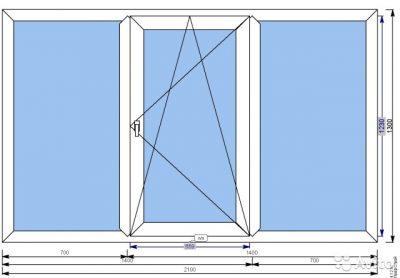 картинка размер окна в кирпичной хрущевке