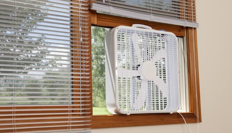 Монтаж оконных вентиляторов
