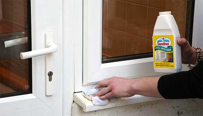 Чем отмыть пластиковые окна от желтизны и грязи