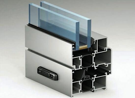 картинка алюминиевые окна