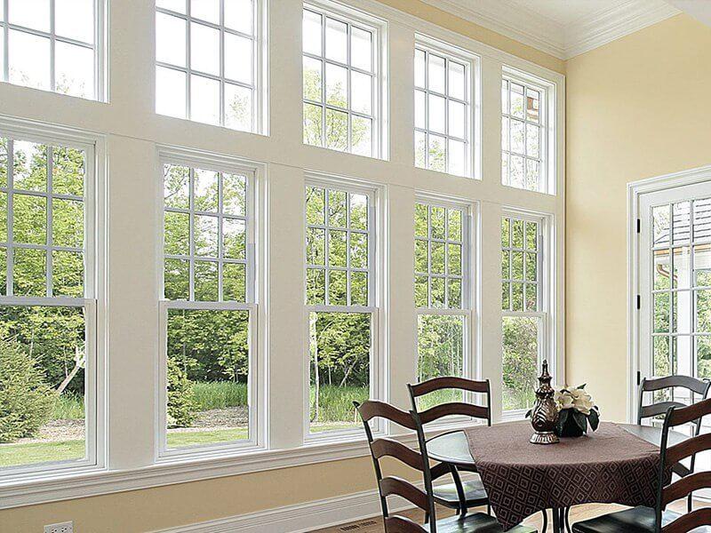 картинка пластиковые деревянные окна