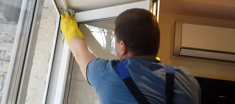 Чем отмыть окна после ремонта в новостройке