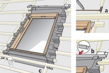 картинка гидроизоляция мансардного окна