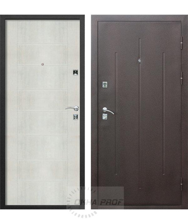 Входные двери Донецк: Стройгост 7-2 Белый клён