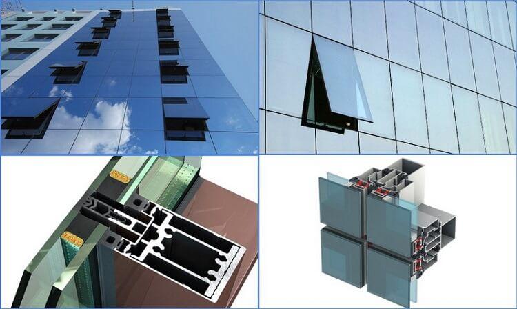 картинка структурное остекление фасадов