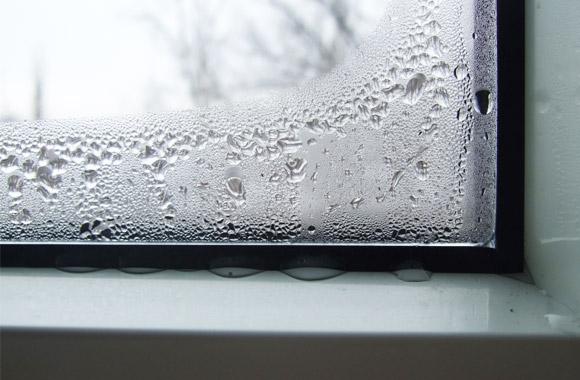 картинка конденсат на окнах