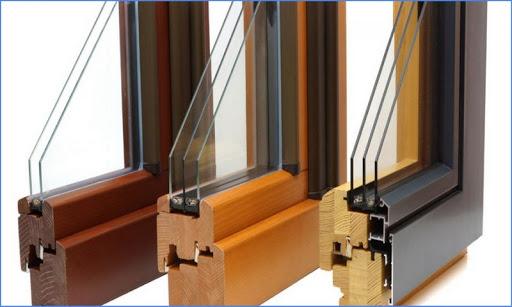картинка деревянные окна со стеклопакетами