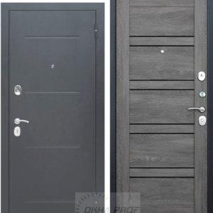Входные двери Донецк: 7,5 см Гарда Серебро Шале графит Царга