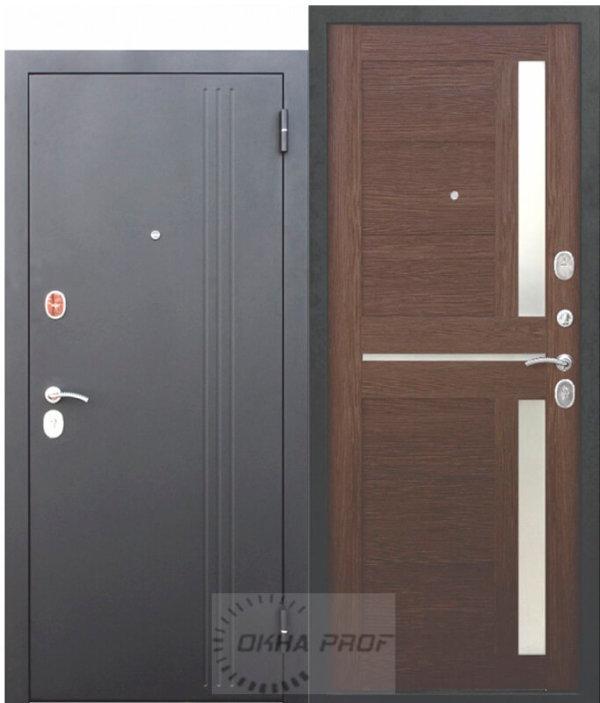 Входные двери Донецк: Входные двери 7,5 смНью Йорк Каштанмускат