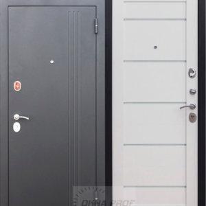 Входные двери Донецк: 7,5 см Нью Йорк Ясень белый эмаль Царга