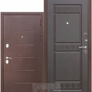 Входные двери Донецк: 10смТроя Медныйантик Венге