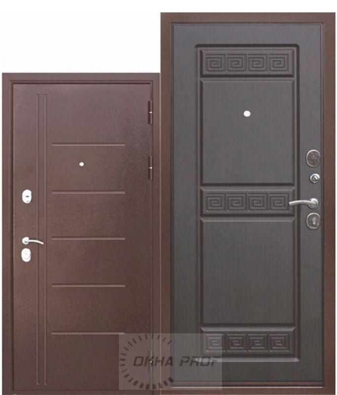 Входные двери Донецк: 10см Троя Медный антик Венге