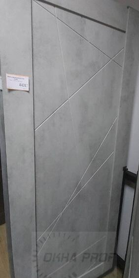Межкомнатные двери Дера серия Лайн 534 бетон светлый 002