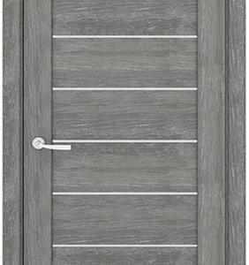 Межкомнатные двери Петровские серия Массив 7С Шале серебро