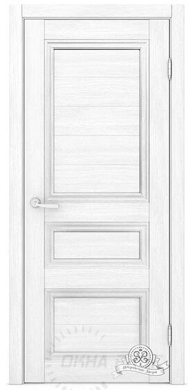 Межкомнатные двери Петровские серия Массив К7 Белый глухое