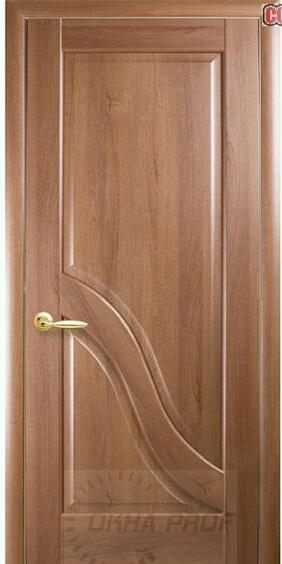 "Межкомнатные двери ""Новый стиль"" Маэстра Амата, золотая ольха"