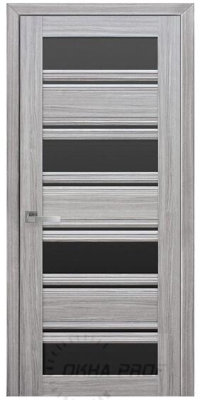 """Межкомнатные двери """"Новый стиль"""" Итальяно Венеция С2, жемчуг magica с бронзовым стеклом"""