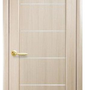 """Межкомнатные двери """"Новый стиль"""" Ностра Мира, ясень со стеклом сатин"""