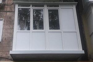 Установка балконов под ключ