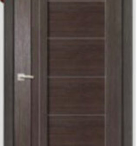 """Межкомнатные двери Дера серия """"Мастер"""" 693 венге (глухая)"""